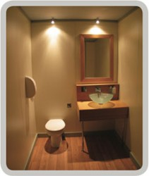The Panelled system uses laminated or veneer panels to build a room within a building or a structure creating a home from home bathroom. Clients may provide their own walling or select from IGLOOS® range of wall panel colours. There are a number of options av...