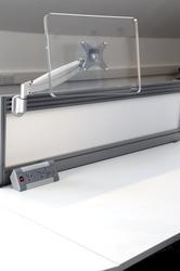 Gamma Tool Rail Gas Monitor Arm Silver image