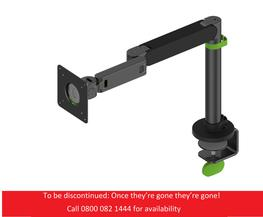 Glide Monitor Arm Black/Green image