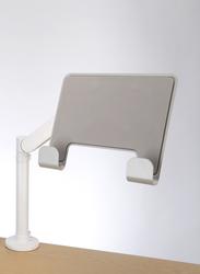 Glide Laptop Tray Silver/White image