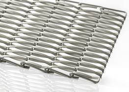 Material:	Stainless steel Free area:	approx. 33% Total mesh thickness:	approx. 10.5 mm Weight:	approx. 9.3 kg/m² Maximum mesh width:	based on requirements...