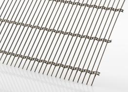 Material:	Stainless steel Free area:	approx. 67% Total mesh thickness:	approx. 10.0 mm Weight:	approx. 8.68 kg/m² Standard mesh dimensions:	2.5 x 1.25 m...
