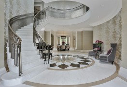 Kallisto Stairs – Bespoke Helical Precast Concrete Stairs image