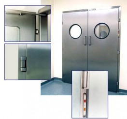 Clean Room Stainless Steel Door image