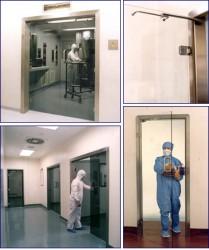 Clean RoomGlass Door image