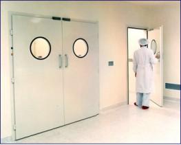 Clean RoomPowder Coated Steel Door image