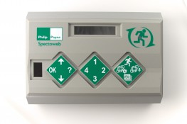 Specto is a family of emergency lighting test system solutions available at 3 levels: Specto in its simplest form is a loop of standalone emergency luminaires and/or signs that are linked back to a central switch. SpectoLink permits a number of Specto areas, p...