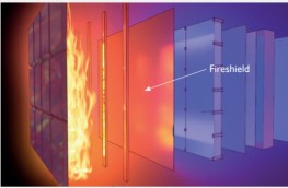 Fireshield Vapour Permeable Membrane with Unique coating that eliminates fire spread image