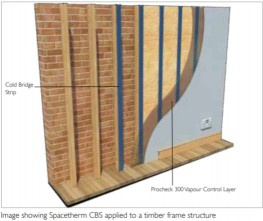 Spacetherm Cold Bridge Strip - A Proctor Group