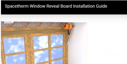Spacetherm Window Reveal Board image
