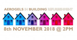 "LAST DAY TO REGISTER ! - WEBINAR  ""Spacetherm - Aerogels In Building Refurbishment"""