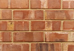 High quality pressed brick with flashings and overburns....