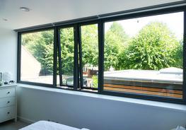 Aluminium Casement Windows image