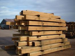 Hardwood Oak Timber Frame image