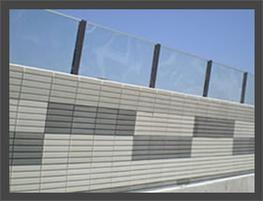 Highway Noise Barrier by Shanda Noise Barrier Engineering Co