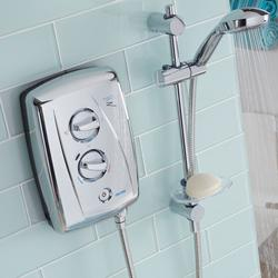 T80Z Fast-Fit Electric Shower - Chrome image