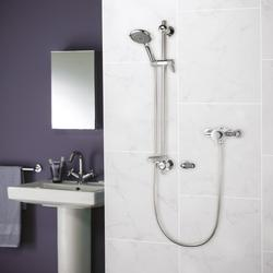 Elina Exposed Concentric TMV3 Mixer Shower + Grab image