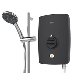 Elora Electric Shower - Charcoal image