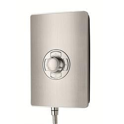 Aspirante Electric Shower - Brushed Steel image