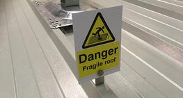 Rooftop Safety Signs image