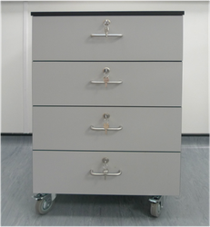 Trespa Mobile Laboratory Cabinets image