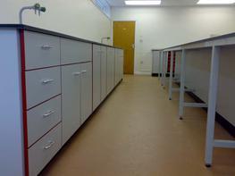 Trespa Laboratory Cabinets image