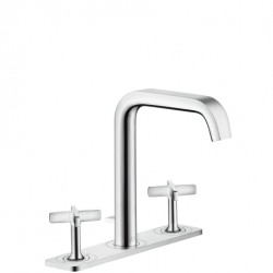 3-Hole Basin Mixer With Plate image
