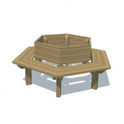 Furniture - Hexagonal Tree seat image