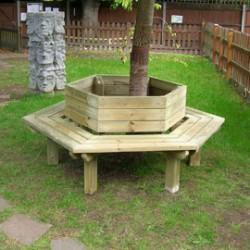 Awesome Furniture   Hexagonal Tree Seat. By Playforce. U2039 U203a