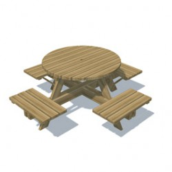 Classic additions to any outdoor play area, our picnic tables are made from treated play timber and scaled for children....