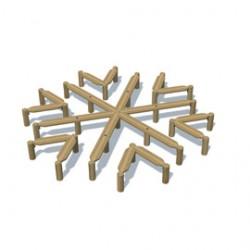 Furniture - Snowflake Maze Seating image