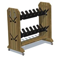 Storage - Wellie Boot Rack image