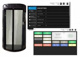 HiSec 9 Lite Full Height Security Booth - 900mm Walkway - Gunnebo