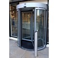 GyroSec FW Motorized Security Revolving Door - Semi-external, 3 wings and shutters image