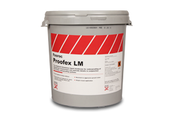 Two component bituminous liquid for use with Proofex waterproofing systems.For the waterproofing of intricate details e.g. pipe entries, covings etc.- For external waterproofing of underground structures- Can be applied to damp surfaces- Resists hydrosta...