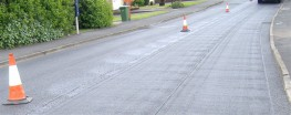 Geoglas® is a polymer coated glass-fibre grid for asphalt reinforcement. Its main application is in highway re-surfacing to prevent reflective cracking and extend the life of new bituminous layers. The installation of Geoglas reinforces the pavement and inhib...