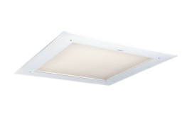 The design of the pure LED product Glamox C70-R is recognized by the clean perception of the visible surface. There are minimum transitions from one material to another since the visible area is made in one piece. This creates a unique clean expression. C70-R is designed to be installed in most of the standard ceiling types. Modular with visible or concealed profiles, solid ceiling up to 44mm thickness. Connection can be done without opening the diffuser, using Linect or standard push in connection terminals. Easy and with a minimum of time.