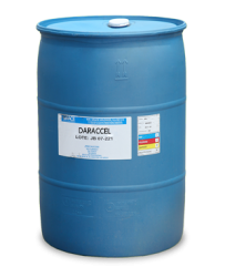 A liquid admixture formulated to provide faster set acceleration and increased early strength development of concrete. Contains calcium chloride. For non-reinforced precast concretes. Not for use in concrete containing embedded metals....