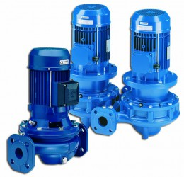 Lowara FC-FCT Cast Iron In-Line Centrifugal Pumps image