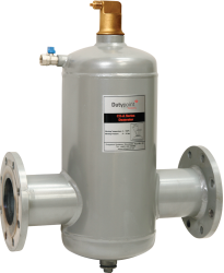 The Dutypoint CXA air separator units are installed to efficiently remove air and micro bubbles from the system. In heating systems, an air separator should be installed in the flow loop where the system experiences the highest temperature (next to the heat s...