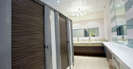 Combining elegance with strength, Aspect uses elliptical aluminium pilasters to create an eye catching and stylish cubicle system. Ideal for prestigious washrooms in offices, leisure facilities, restaurants and more, where careful selection of finishes can ach...