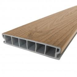 Fitrite Warm Beech PVCu Deck Board image