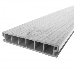 Fitrite Ash Grey PVCu Deck Board image