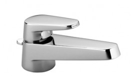 Selv Single-lever basin mixer with pop-up waste image