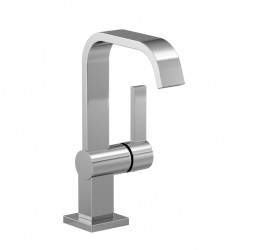 IMO Single-lever basin mixer with high spout image