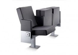 The 6061 Microflex chair is the most compact one in the Flex series, which allows maximum optimization of space. When folded, it takes up just 24 cm. Automatic folding seat and backrest in a single, joint movement. The seat and backrest are almost joined toget...