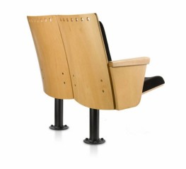 The 128 Carmen seat was designed especially to equip auditoriums and concert halls. Special acoustic absorption feature due to the materials it employs. It can incorporate the Helmholtz acoustic resonator . Finish in beech wood. Comfort: It is a foldaway seat,...