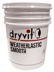 Flexible, waterproof elastomeric exterior coating....