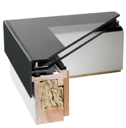 Our opening rooflights combine efficient and minimal design with effortless automation. All our opening models include an insulated upstand, the unique design of which allows us to fit an actuator within it. Rather than having to add a separate frame for the m...