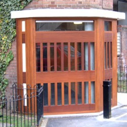 Soundcraft security screens have been extensively used in challenging social housing environments where clear sight lines and unimpeded fields of vision can assist in deterring anti-social behaviour.